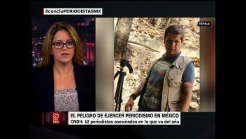 Doce periodistas asesinados en México en ocho meses, ¿qué está pasando?