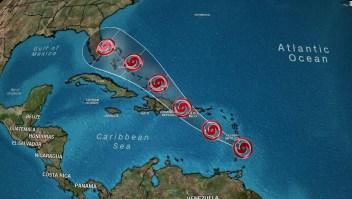 Tormenta tropical Dorian podría llegar a la Florida