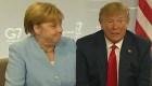 "Trump hace reír a Merkel: ""Tengo sangre alemana"""