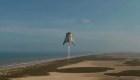 El Starhopper de SpaceX voló sobre Texas