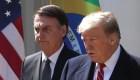 Trump respalda a Bolsonaro en plena crisis por el Amazonas