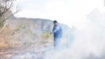 Evo Morales fue bombero en la Amazonía
