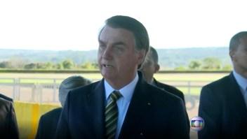 Bolsonaro llama a cumbre de presidentes por situación del Amazonas