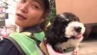 Llevó a su mascota al trabajo y se volvió viral