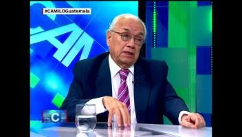 """Mario A. Sandoval: """"En Guatemala se elige entre 'el más peor'"""""""