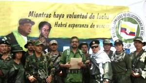 Iván Márquez y Jesús Santrich retoman las armas