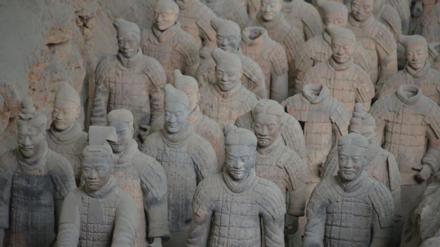 China guerreros de terracota