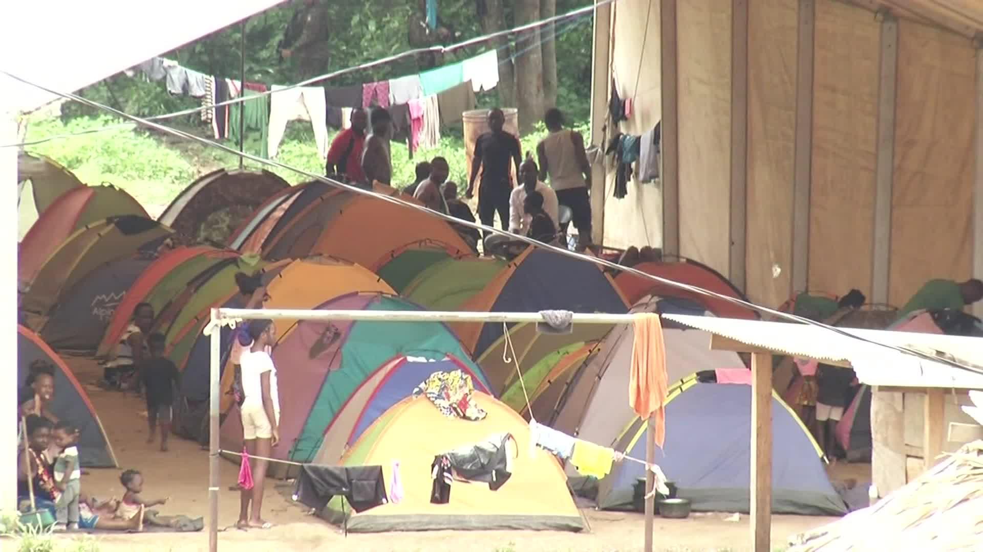 Migrantes Darién frontera Panamá Colombia