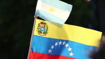 bandera argentina venezuela diaspora