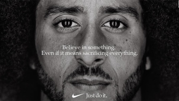 Kaepernick: Anuncio del deportista con Nike gana un Emmy