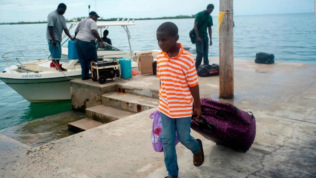 Dorian y su paso lento por Bahamas