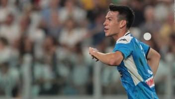 Hirving Lozano: Debut y gol en Italia