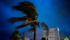 Viento y oleaje azotan a Bahamas por Dorian