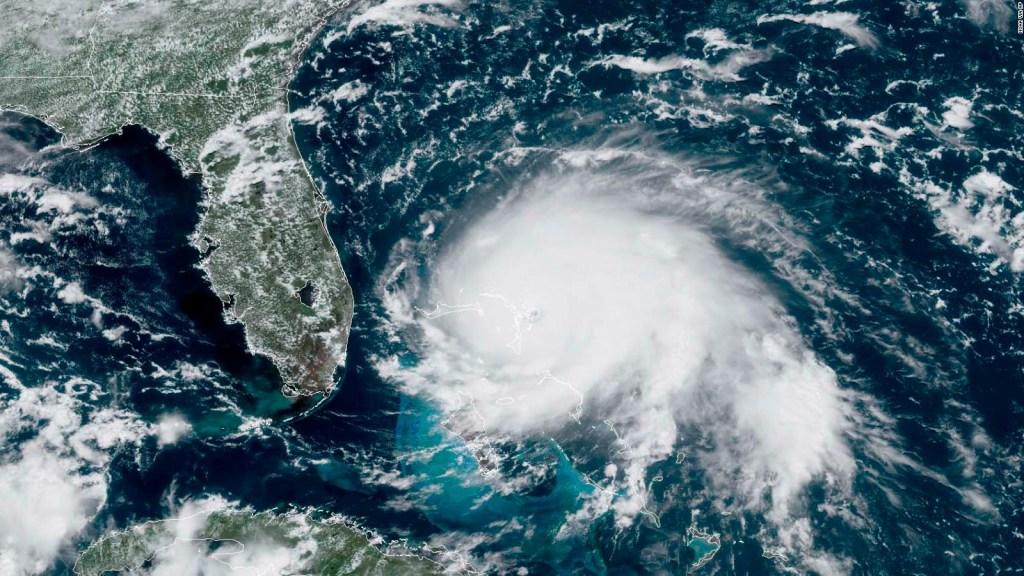 Huracán Dorian causa estragos en Bahamas