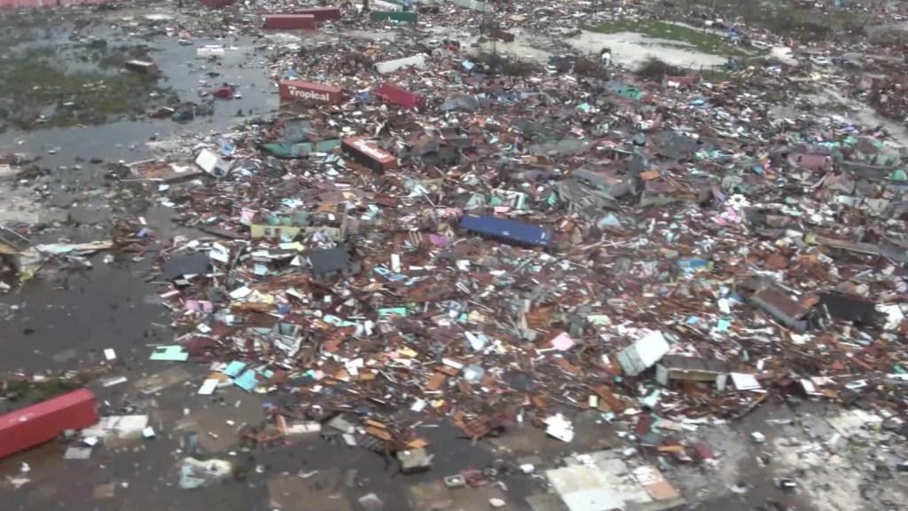 Mira la devastación que dejó Dorian en las Bahamas
