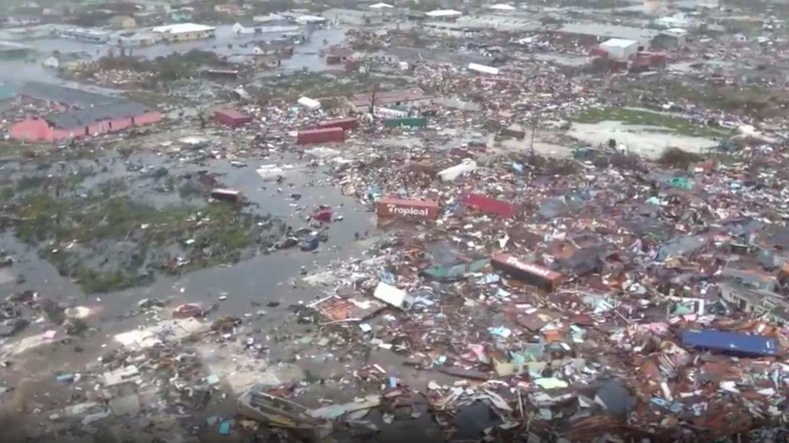 Imágenes devastadoras de las Bahamas tras el paso de Dorian
