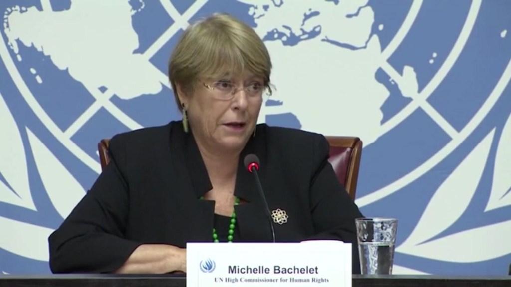 Bachelet: Regresar a la guerra en Colombia no es solución