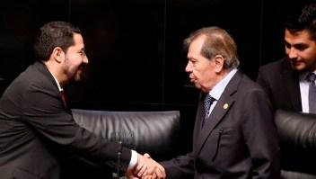 """Muñoz Ledo: """"Se puede pasar a la historia sin tener el poder"""""""
