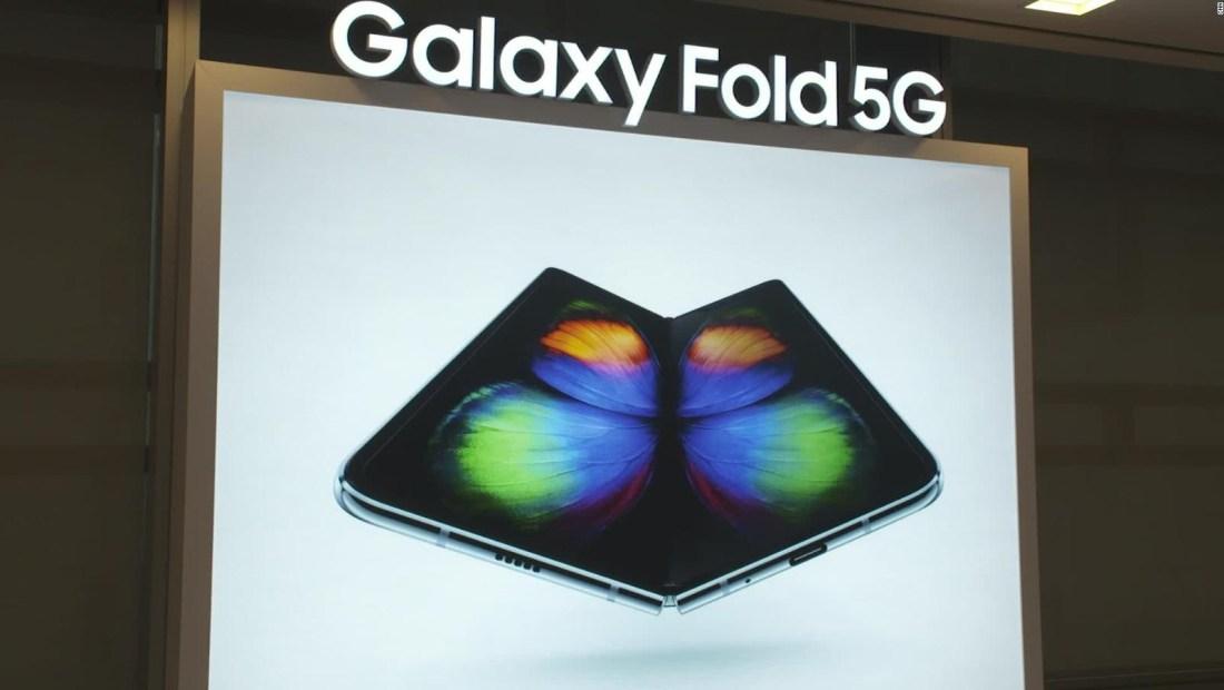 Samsung anuncia nuevo Galaxy Fold