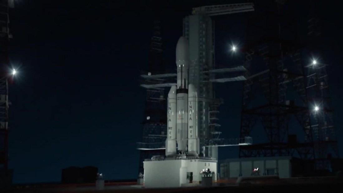 India en camino a la Luna