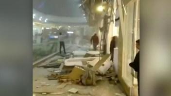 Colombia: al menos 10 heridos tras caída de muro