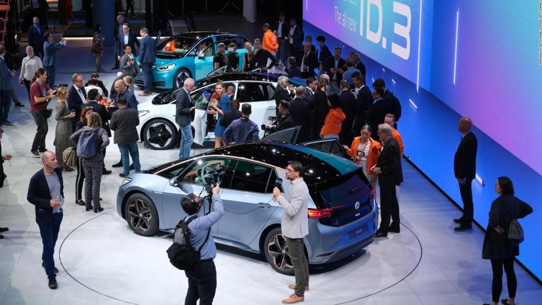 Salón del auto de Francfort: los autos eléctricos serán los protagonistas