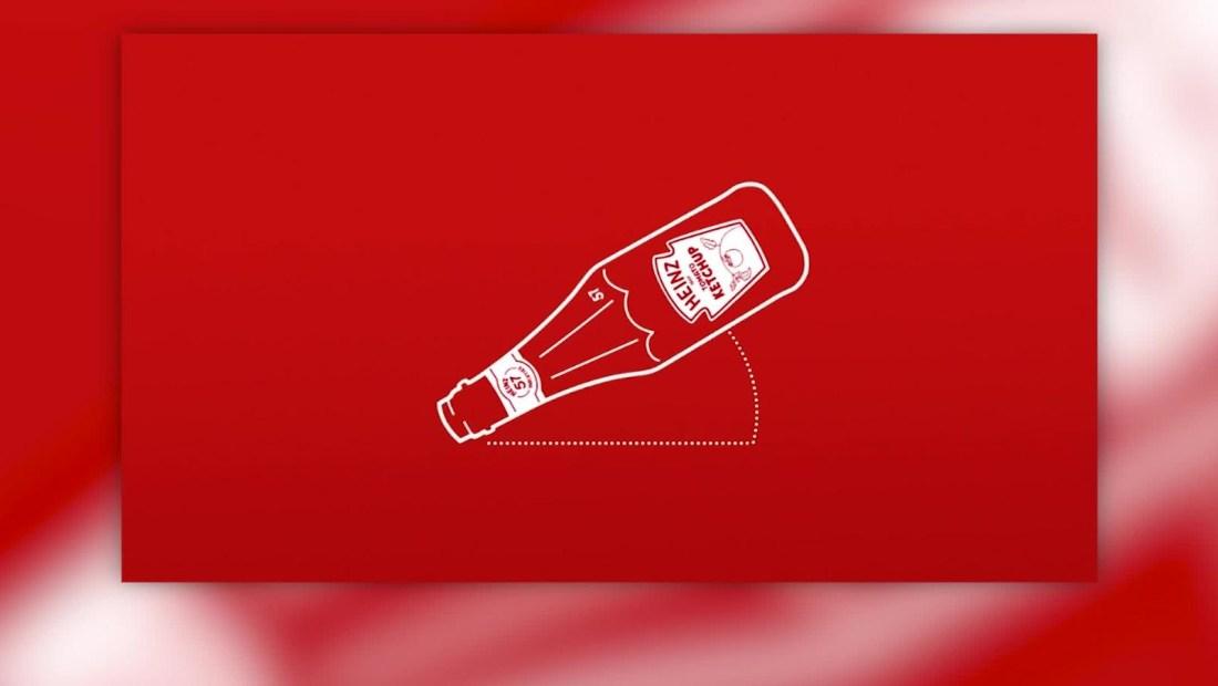 Este es el ángulo perfecto para servir ketchup