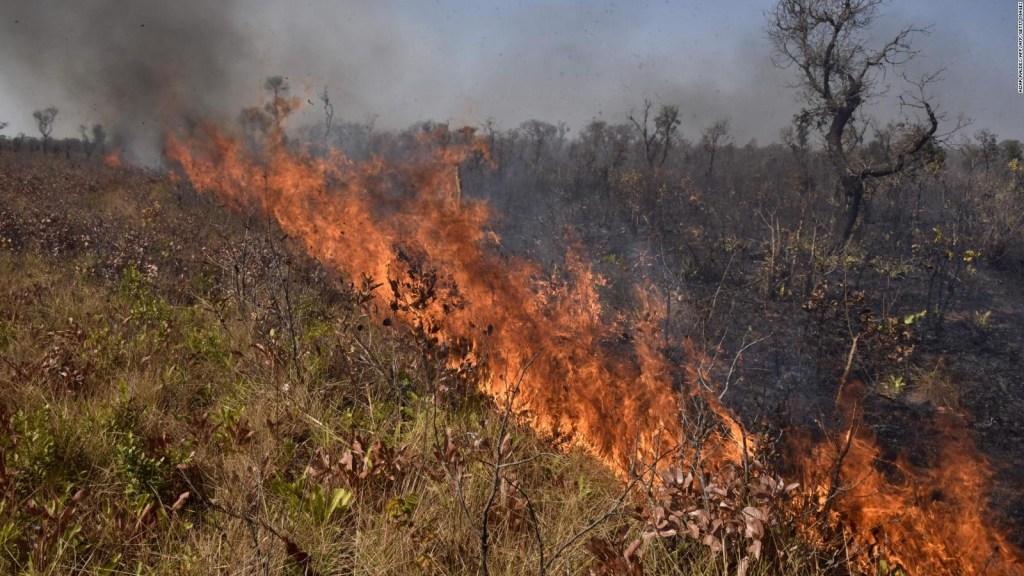 Hay riesgo de propagación de incendios en Bolivia