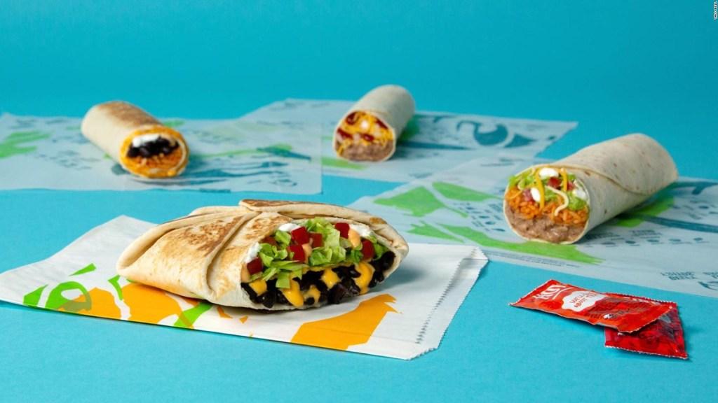 Taco Bell presenta menú vegetariano