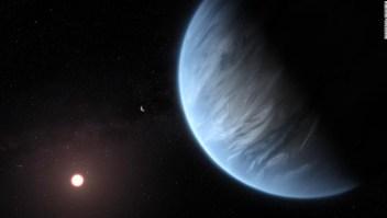 Detectan agua e exoplaneta