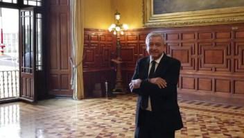 """Dan """"chuleada"""" al Palacio Nacional para el grito de AMLO"""