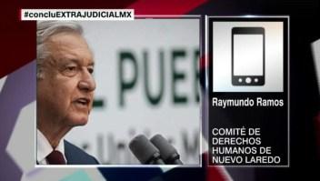 """Raymundo Ramos: """"La respuesta del Gobierno de Tamaulipas es una burla"""""""