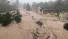 Fuertes lluvias crean caos en España