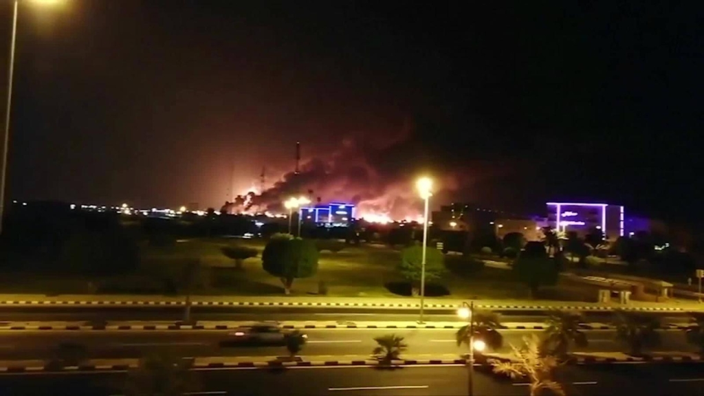 Ataque con drones destruye instalaciones petroleras