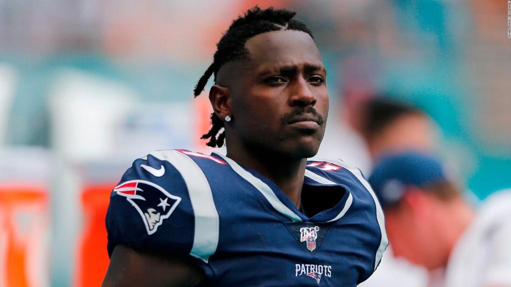 Los Patriots le dan de baja a Antonio Brown