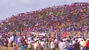 ONU denuncia amenaza de genocidio en Myanmar
