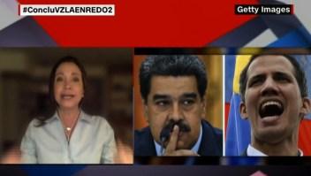 Reacciona María Corina Machado a expresiones de Felipe Mujica sobre diálogo con el Gobierno de Maduro