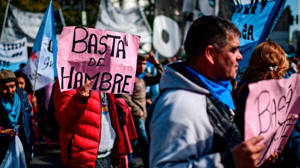 La crisis en Argentina se siente en el estómago