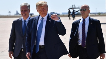 Trump publica una propaganda política en español a través de Twitter