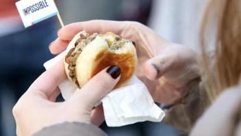 La Impossible Burger empieza a comercializarse en los supermercados