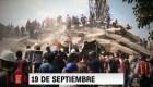 Los daños del terremoto de 2017 en México