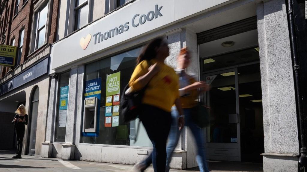Thomas Cook se derrumba dejando a algunos viajeros varados
