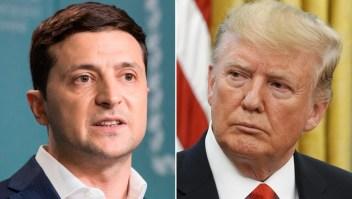 Trump niega haber presionado a Zelensky