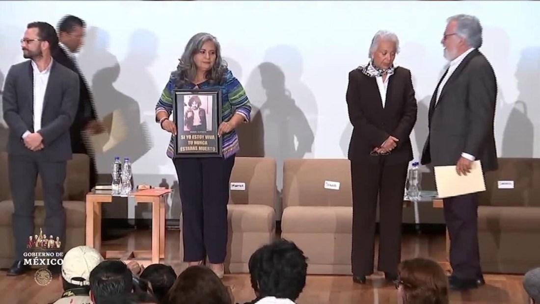 Gobierno de México ofrece disculpas públicas a Alicia Camacho
