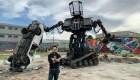 Subastan robot gigante en Ebay