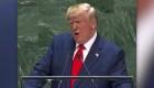 Trump: Maduro es un títere cubano