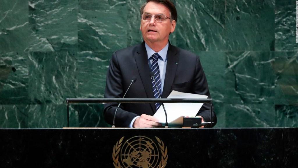 """Bolsonaro: """"El Amazonas no está siendo devastado"""""""