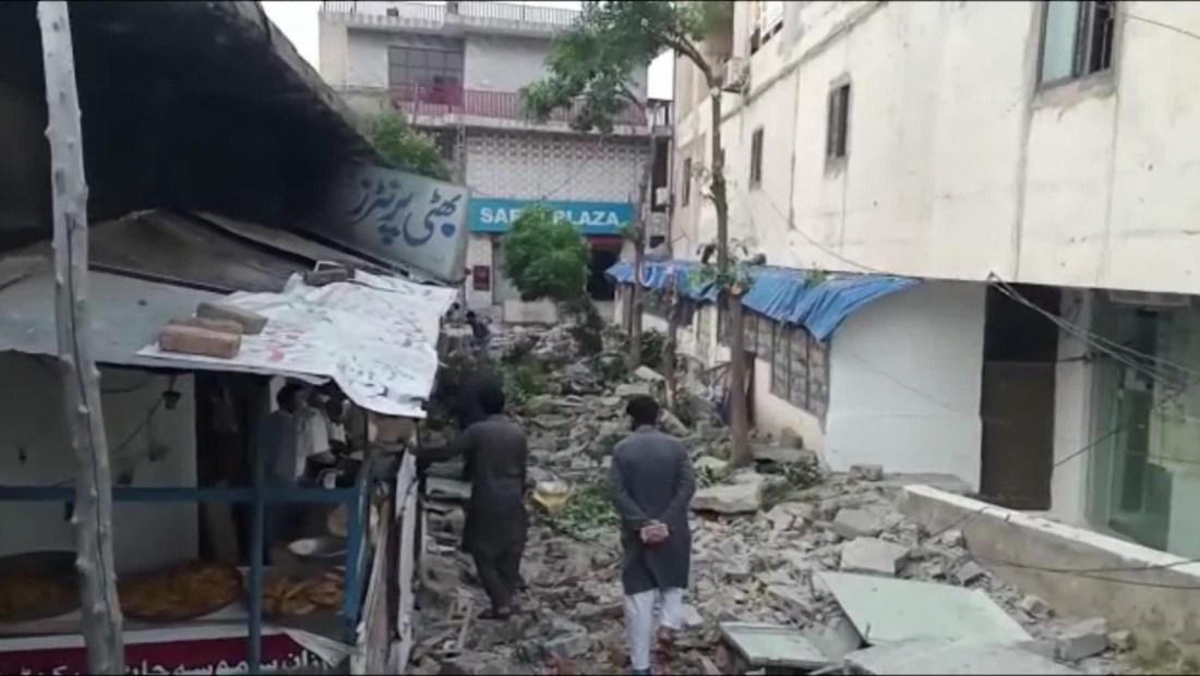 Sismo de 5.8 sacude Pakistán