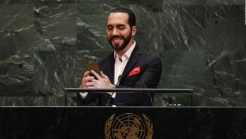 Con una selfi, Nayib Bukele dice que la ONU es obsoleta