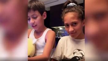 Los hijos de Jennifer Lopez y Marc Anthony se vuelven virales